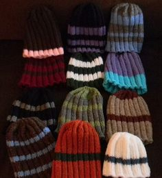 I decided to share with you my Christmas beanies. I looked and looked and looked for a pattern that spoke to me and was something that I re...