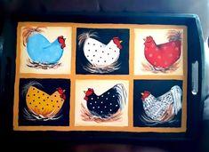 Tole Painting, Hens, Advent Calendar, Tray, Holiday Decor, Home Decor, Trays, Interior Design, Home Interior Design