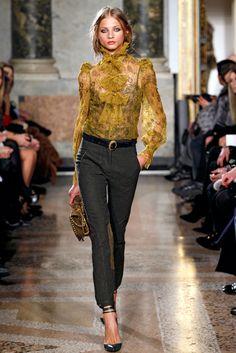 Emilio Pucci Fall 2011 Ready-to-Wear Fashion Show - Anna Selezneva
