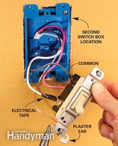 How to Wire ThreeWay Light Switches Diagram Electrical wiring