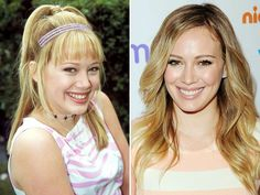 Hilary Duff. I absolutely admired her my whole childhood.