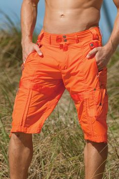Preminum Lounge Nathan Mens Shorts   UnderGear Today s Man, Swimsuit With  Shorts, Orange Shorts 4cb6535e4bfe