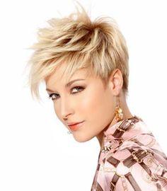 Razor Cuts for Short Blonde Hair