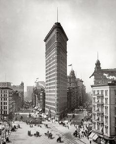 Flatiron Building, New York City, Historic #Architecture