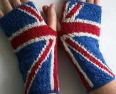 Union Jack handwarmers kit