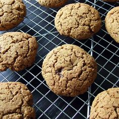 Soft Pumpkin Cookies that are egg free, diary free, and gluten free.