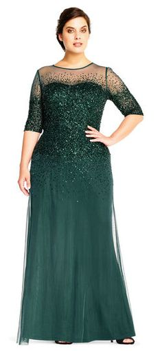 24 Plus Size Long Wedding Guest Dresses {with Sleeves | Pinterest ...