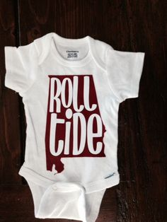 University of Alabama Onesie or Toddler T shirt  by TheJudeBug