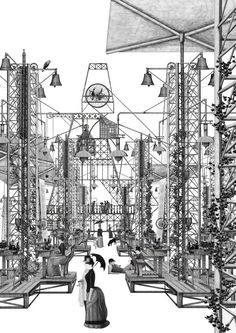 The Grimm Forest by Thomas Brown - University of Greenwich, Unit 2                                                                                                                                                     More