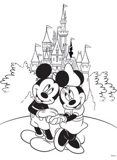 Free Disney Coloring Page! #Printable