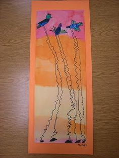 WHAT'S HAPPENING IN THE ART ROOM??: 2nd Grade: Dali Birds