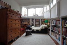 Interior houseboat, family Martijn, Amsterdam