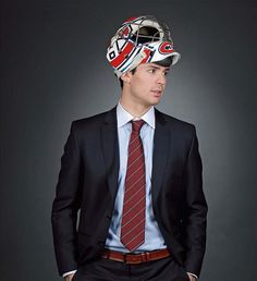 Montreal Canadiens goalie Carey Price looking like a star in his suit. Hockey Baby, Hockey Goalie, Hockey Teams, Hockey Players, Ice Hockey, Hockey Stuff, Sports Teams, Montreal Canadiens, Mtl Canadiens