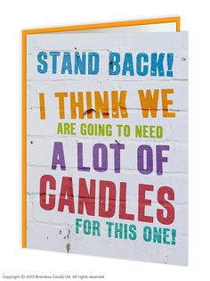 Lots Of Candles Card 250