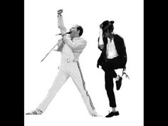 """Freddie Mercury Michael Jackson / """"There Must Be More To Life Than This"""" (home rehearsal, newly released)"""