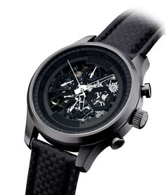 Tic Toc, Cool Watches, Skeleton, Smart Watch, News, Accessories, Black, Smartwatch, Black People