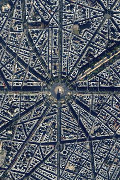 Located at the centre of 12 radiating avenues in Paris, France, construction of the Arc de Triomphe took nearly 30 years to comp