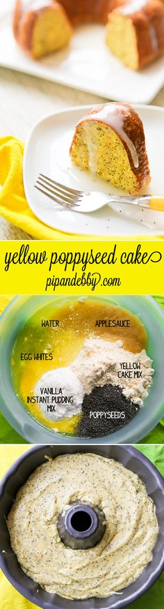 Yellow Poppyseed Cake | 17 Cakes Even Incredibly Lazy People Can Make