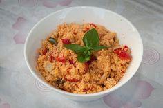 Ricetta di Angelorosso goloso: Tabuleh con verdure  #food #ricetta #tabuleh