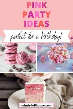 Pinkalicious + Perfect Pink Party Ideas | Mimi's Dollhouse