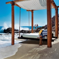 "The Romantic Hotel ""One and Only"", Los Cabos, Mexico San Jose Del Cabo, Cabo San Lucas, Gazebo, Pergola, Beach Hotels, Hotels And Resorts, Beach Resorts, One And Only, Floating Bed"