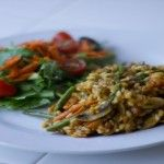 Vegetable Risotto | Plant Based on a Budget