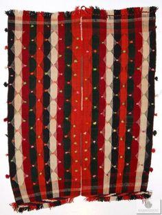 Berber teppich antik  Marokkanischer Berber Teppich Boucherouite 175 x 135 cm ...
