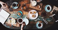 Person Sitting Near Table With Teacups and Plates · Free Stock Photo Person Sitting, Wooden Tables, Free Stock Photos, Tea Cups, Plates, Traditional, Coffee Coffee, Countries, Gender