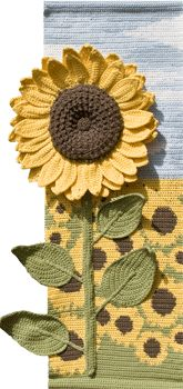Sunflower Wall Hanging Pattern for sale
