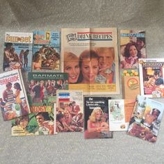Vintage Drink Mix Guides & Recipes Lot of 13 Paper Booklets From 1960 1970 1980 | eBay