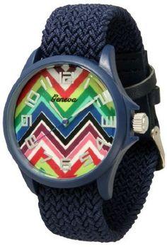 http://interiordemocrats.org/geneva-braided-fabric-rainbow-chevron-face-watchnavy-blue-p-5803.html