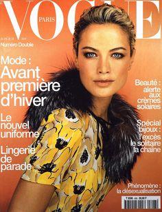 Carolyn Murphy by Ruven Afanador Vogue Paris June July 2000