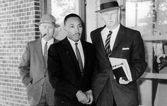 King was arrested several times during his lifetime. In 1960, he joined black college students in a sit-in at a segregated lunch counter. Presidential candidate John F. Kennedy interceded to have King released from jail, an action that is credited with helping Kennedy to be elected President.--Photograph by Horace Cort