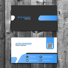 72 best visiting card designs byteknightdesign images on professional business card vc105 reheart