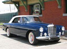 My dream ride: 1960 Bentley Continental Convertible.