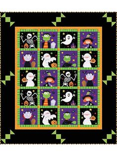 Halloween Candy Quilt Pattern