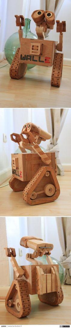 Wall-e trip par BIBI - wall e trip avec tout et n'importe quoi!lol