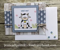 Scrapbook Pages, Scrapbooking, Celebrate Good Times, Funny Farm, Card Making Kits, Animal Cards, Heart Cards, Close To My Heart, Greeting Cards Handmade