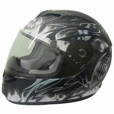 Viper RS-60 Demon full face Motorcycle helmet - Black