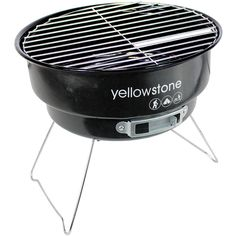 Yellowstone Folding BBQ with Cooler Bag Perfect For Camping /Festival/Picnic Folding Bbq, Double U, Portable Bbq, Charcoal Bbq, Festival Camping, Just Relax, Barbecue, Picnic, Steel