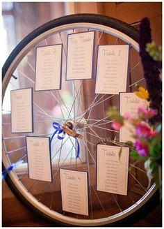 Bike wheel table plan