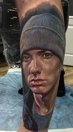 Cool Eminem Tattoo