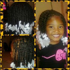 plaits twists hairstyles for black hair kids Childrens Hairstyles, Lil Girl Hairstyles, Natural Hairstyles For Kids, Funky Hairstyles, Natural Hair Styles, Toddler Hairstyles, Little Girl Braids, Braids For Kids, Girls Braids