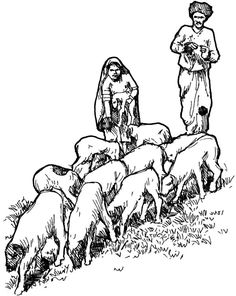 26 Best David The Shepherd Boy Coloring Pages images | The ...