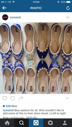 Pakistani shoes