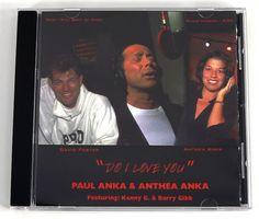 Paul Anka with Barry Gibb Kenny G 1998 Do I Love You Single CD Pop Music Rare MT #Pop1990s