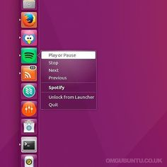 We show you how to add this nifty #Spotify quicklist in #Ubuntu to control music playback over on the blog  #apps #music #Linux #omgubuntu by omgubuntu