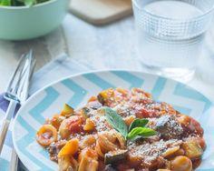 Orecchiette aux légumes façon One Pot Pasta (plat végétarien)