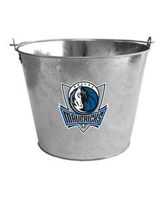 Take a look at this Dallas Mavericks Galvanized Bucket by NBA Boutique on #zulily today! $9.99