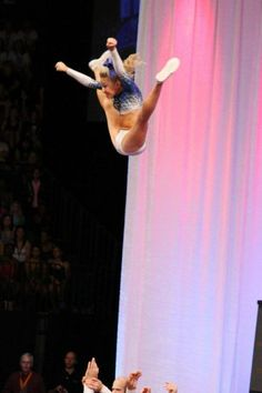 Toe touch basket toss, the best feeling in the world! Cheer Jumps, Cheer Stunts, Cheer Dance, All Star Cheer, Good Cheer, Cheer Mom, Cheer Athletics Cheetahs, Cheerleading Photos, Cheerleading Cheers
